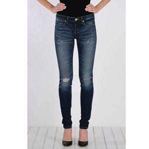 Henry & Belle Lila Distressed Skinny Jeans